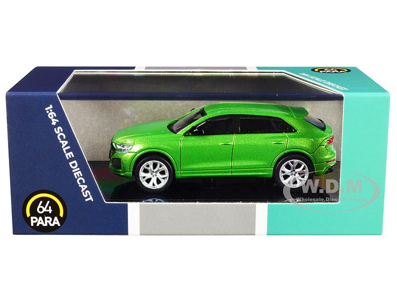 Audi RS Q8 Java Green Metallic 1/64 Diecast Model Car Paragon PA-55171