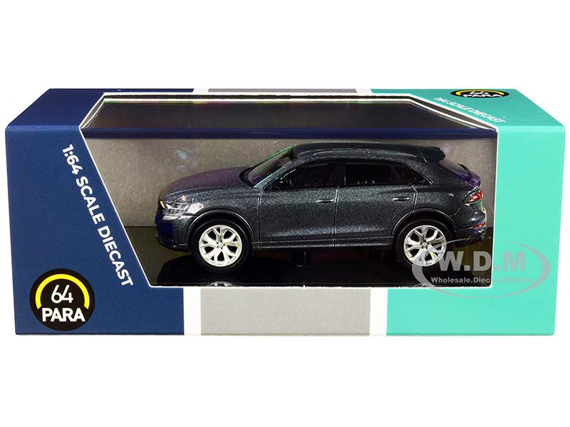 Audi RS Q8 Daytona Gray Metallic 1/64 Diecast Model Car Paragon PA-55172