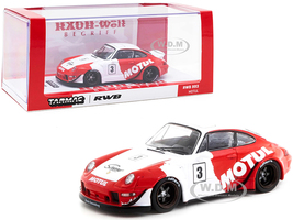 Porsche RWB 993 #3 Motul Red White RAUH-Welt BEGRIFF 1/43 Diecast Model Car Tarmac Works T43-014-MO