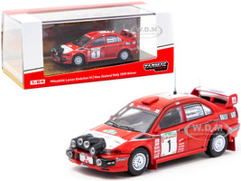 Mitsubishi Lancer Evolution VI #1 Tommi Makinen Risto Mannisenmaki Winner New Zealand Rally 1999 1/64 Diecast Model Car Tarmac Works T64-021-99NZD