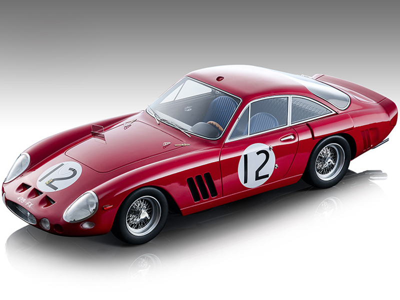 Ferrari 330 LMB #12 Sears Salmon 24 Hours of Le Mans 1963 Mythos Series Limited Edition 170 pieces Worldwide 1/18 Model Car Tecnomodel TM18-90 B