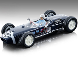 Lotus 18 #20 Stirling Moss Winner Championship Formula 1 F1 Monaco Grand Prix 1961 Driver Figurine Mythos Series Limited Edition 310 pieces Worldwide 1/18 Model Car Tecnomodel TM18-124 F