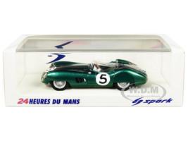 Aston Martin DBR1 #5 Roy Salvadori Carroll Shelby Winner 24 Hours of Le Mans 1959 1/43 Model Car Spark 43LM59