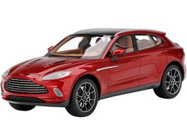 Aston Martin DBX Hyper Red Black Top 1/18 Model Car Top Speed TS0287