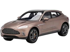 Aston Martin DBX Satin Solar Bronze Black Top 1/18 Model Car Top Speed TS0288