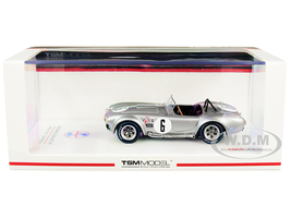 Shelby Cobra 427 #6 Class Winner Sebring 12H 1966 1/43 Model Car True Scale Miniatures TSM 430353