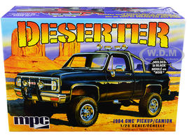 Skill 2 Model Kit 1984 GMC Pickup Truck Molded in Black Deserter 1/25 Scale Model MPC MPC848 M