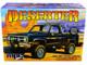 Skill 2 Model Kit 1984 GMC Pickup Truck Molded in Black Deserter 1/25 Scale Model MPC MPC848 M