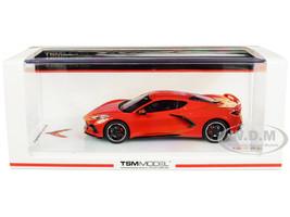 2020 Chevrolet Corvette Stingray C8 Torch Red 1/43 Model Car True Scale Miniatures TSM 430494
