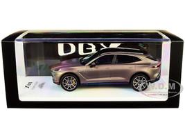 Aston Martin DBX Satin Solar Bronze Black Top 1/43 Model Car True Scale Miniatures TSM 430498