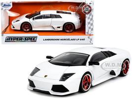 Lamborghini Murcielago LP640 White Hyper-Spec 1/24 Diecast Model Car Jada 32570