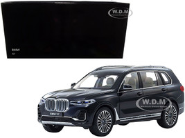 BMW X7 Carbon Black 1/18 Diecast Model Car Kyosho 08951 CBK