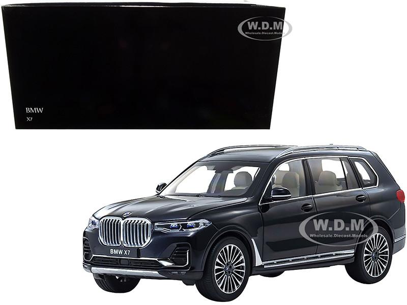 BMW X7 Carbon Black 1/18 Diecast Model Car Kyosho 08951 CBK