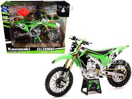 Kawasaki KX 450 #3 Eli Tomac Green 1/12 Diecast Motorcycle Model New Ray 58113