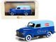 1952 Chevrolet 3100 Panel Delivery Truck Swensons Drive-In Dark Blue Light Blue Limited Edition 250 pieces Worldwide 1/43 Model Car Esval Models EMUS43085 C