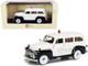 1952 GMC 3100 Suburban Ambulance Black White Limited Edition 250 pieces Worldwide 1/43 Model Car Esval Models EMUS43085 D