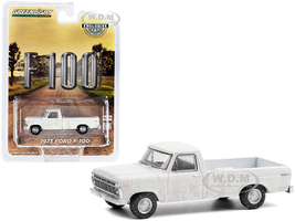 1973 Ford F-100 Pickup Truck White Dirty Version Hobby Exclusive 1/64 Diecast Model Car Greenlight 30217