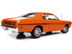 1970 Plymouth Duster 340 Two-Door Coupe EK2 Vitamin C Orange Black Stripes White Interior Class of 1970 1/18 Diecast Model Car Autoworld AMM1239