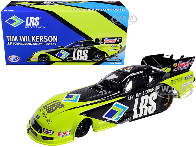 2020 LRS Ford Mustang Tim Wilkerson LRS NHRA Funny Car 1/24 Diecast Model Car Autoworld CP7704