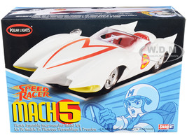 Skill 2 Snap Model Kit Speed Racer Mach 5 1/25 Scale Model Polar Lights POL981 M