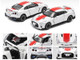Nissan GT-R RHD Right Hand Drive Pearl White Red Stripe 50th Anniversary Edition Limited Edition 1200 pieces 1/64 Diecast Model Car Era Car NS20GTRSP26B
