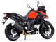 Suzuki V-Strom Red Black 1/12 Diecast Motorcycle Model Maisto 19130