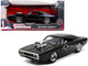 Dom's Dodge Charger R/T Black The Fast and the Furious 2001 Movie 1/24 Diecast Model Car Jada 97605