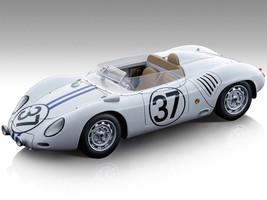 Porsche 718 RSK #37 Ed Hugus Ray Erickson 24 Hours of Le Mans 1959 Mythos Series Limited Edition 80 pieces Worldwide 1/18 Model Car Tecnomodel TM18-145E