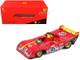 Ferrari 312P #85 Jacky Ickx Mario Andretti 6 Hours Watkins Glen 1972 1/43 Diecast Model Car Bburago 36302