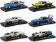 Drivers Set of 6 pieces Blister Packs Release 70 Limited Edition 7000 pieces Worldwide 1/64 Diecast Model Cars M2 Machines 11228-70