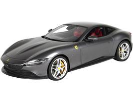 2019 Ferrari Roma Grigio Titanio Titanium Gray Metallic DISPLAY CASE Limited Edition 160 pieces Worldwide 1/18 Model Car BBR P18185 A