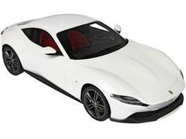 2019 Ferrari Roma Bianco Italia Italia White Metallic DISPLAY CASE Limited Edition 70 pieces Worldwide 1/18 Model Car BBR P18185 B