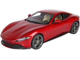 2019 Ferrari Roma Rosso Portofino Portofino Red DISPLAY CASE Limited Edition 160 pieces Worldwide 1/18 Model Car BBR P18185 C