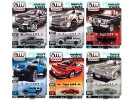 Autoworld Premium 2020 Set A of 6 pieces Release 5 1/64 Diecast Model Cars Autoworld 64282 A
