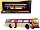 Flxible 53102 Transit Bus #55 Sacramento Vintage Bus & Motorcoach Collection 1/87 HO Diecast Model Iconic Replicas 87-0262