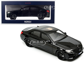2018 Mercedes Benz S-Class AMG-Line Black 1/18 Diecast Model Car Norev 183477