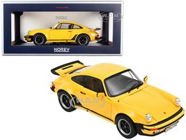 1976 Porsche 911 Turbo 3.0 Yellow 1/18 Diecast Model Car Norev 187579