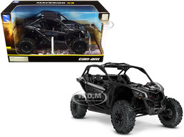 CAN-AM Maverick X3 ATV Triple Black 1/18 Diecast Model New Ray 58193 B
