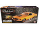 1970 Ford Mustang Boss 429 Weathered Grabber Orange Car Trailer Weathered Pork Chop's Barn Find Boss Set of 2 pieces Limited Edition 650 pieces Worldwide 1/18 Diecast Model Car ACME A1801838 A1801838T