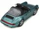 Porsche 911 964 Carrera 4 Targa Turquoise Metallic Limited Edition 999 pieces Worldwide 1/18 Model Car GT Spirit GT805