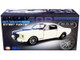 1965 Ford Mustang Shelby G.T.350R Street Fighter Cream Blue Stripes Limited Edition 534 pieces Worldwide 1/18 Diecast Model Car ACME A1801841 SF