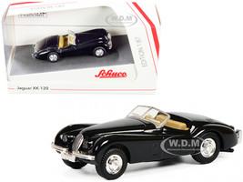 Jaguar XK 120 Roadster Black 1/87 HO Diecast Model Car Schuco 452651600