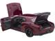Dodge Challenger SRT Hellcat Widebody Octane Red 1/18 Model Car Autoart 71739
