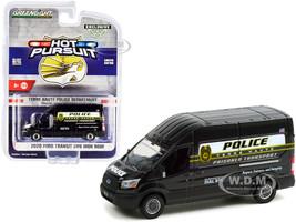 2020 Ford Transit LWB High Roof Van Terre Haute Police Prisoner Transport Terre Haute Police Department Indiana Hot Pursuit Series 1/64 Diecast Model Greenlight 30212