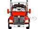 Kenworth T880 Day Cab East Genesis End Dump Trailer Viper Red Silver 1/50 Diecast Model First Gear 50-3455