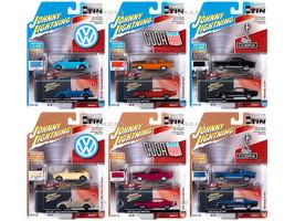 Johnny Lightning Collector's Tin 2020 Set 6 Cars Release 3 1/64 Diecast Model Cars Johnny Lightning JLCT005