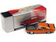 1970 Plymouth AAR Barracuda Vitamin C Orange Black Stripes Hood Collector Tin Limited Edition 4540 pieces Worldwide 1/64 Diecast Model Car Johnny Lightning JLCT005 JLSP108 A