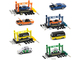 Model Kit 4 piece Car Set Release 35 Limited Edition 7500 pieces Worldwide 1/64 Diecast Model Cars M2 Machines 37000-35