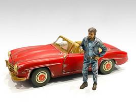 Auto Mechanic Tim Figurine 1/18 Scale Models American Diorama 76259
