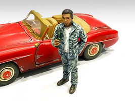 Auto Mechanic Hangover Tom Figurine 1/24 Scale Models American Diorama 76360